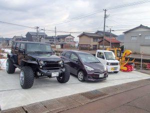 社員用駐車場